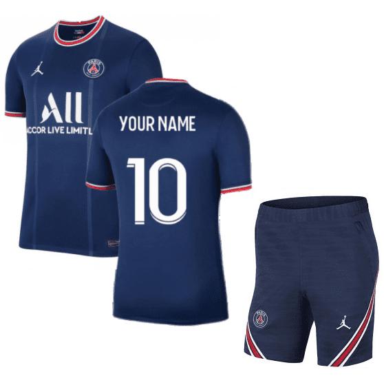 Футбольная форма ПСЖ 2022 с именем и номером