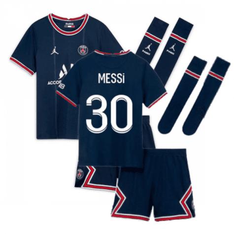 Детская футбольная форма Месси Псж 2021-2022