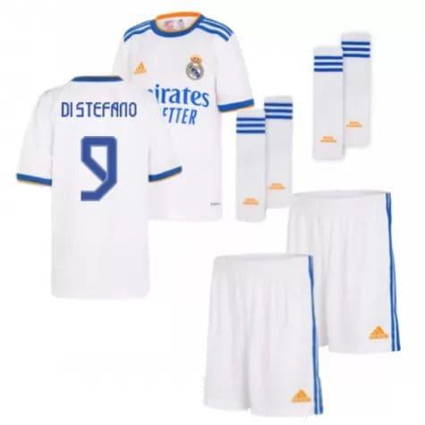 Детская форма Реал Мадрид 2021-2022 Ди Стефано 9 с гетрами