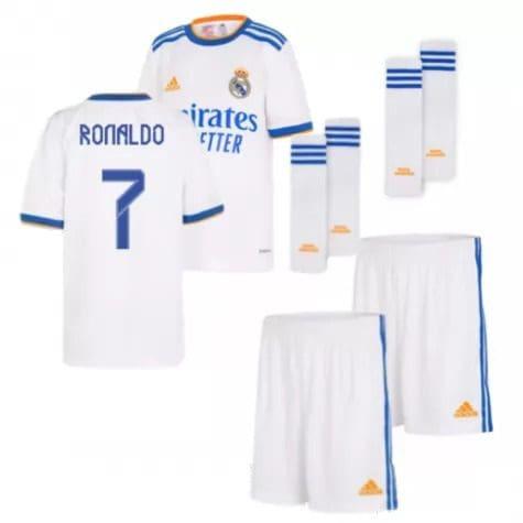 Детская форма Реал Мадрид 2021-2022 Роналду 7 с гетрами