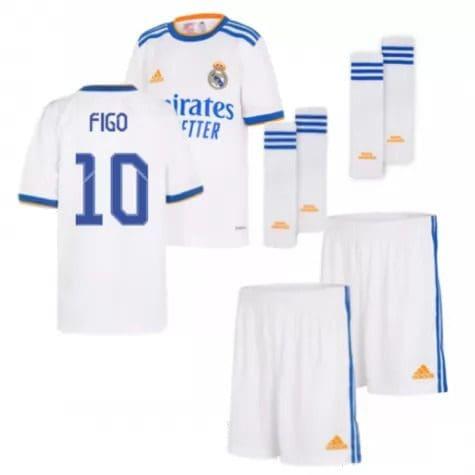 Детская форма Реал Мадрид 2021-2022 Фигу 10 с гетрами