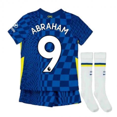 Детская форма Челси 2021-2022 Абрахам 9 с гетрами