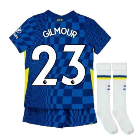 Детская форма Челси 2021-2022 Гилмор 23 с гетрами