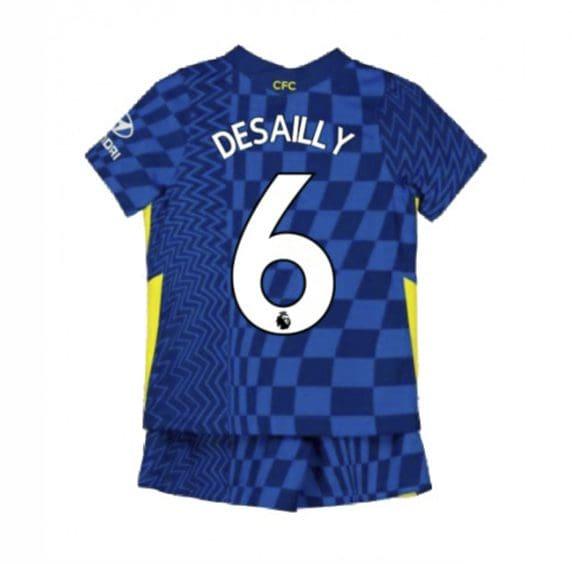 Детская форма Челси 2021-2022 Десайи 6
