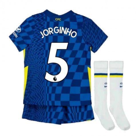 Детская форма Челси 2021-2022 Жоржиньо 5 с гетрами