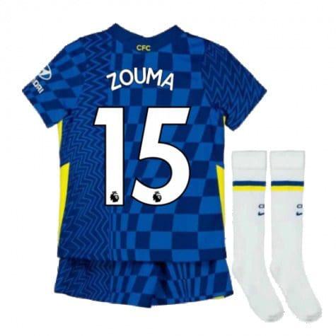 Детская форма Челси 2021-2022 Зума 15 с гетрами