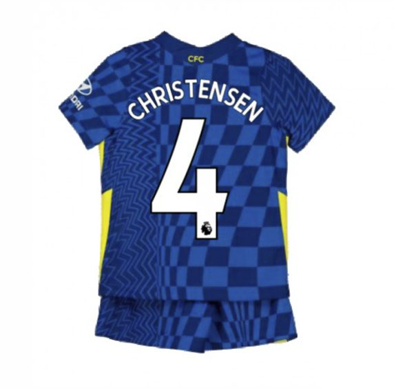 Детская форма Челси 2021-2022 Кристенсен 4