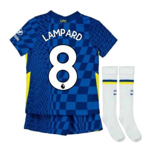 Детская форма Челси 2021-2022 Лэмпард 8 с гетрами