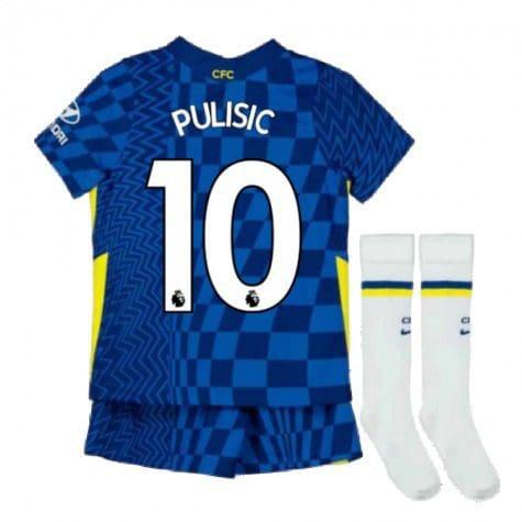Детская форма Челси 2021-2022 Пулишич 10 с гетрами