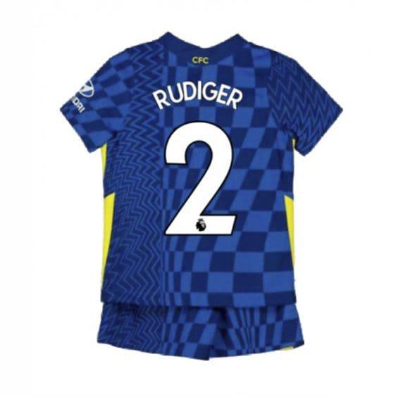 Детская форма Челси 2021-2022 Рюдигер 2