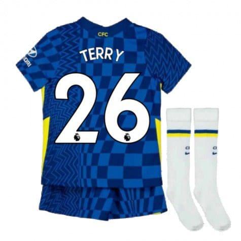 Детская форма Челси 2021-2022 Терри 26 с гетрами