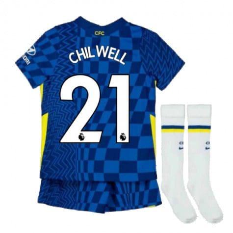 Детская форма Челси 2021-2022 Чилуэлл 21 с гетрами
