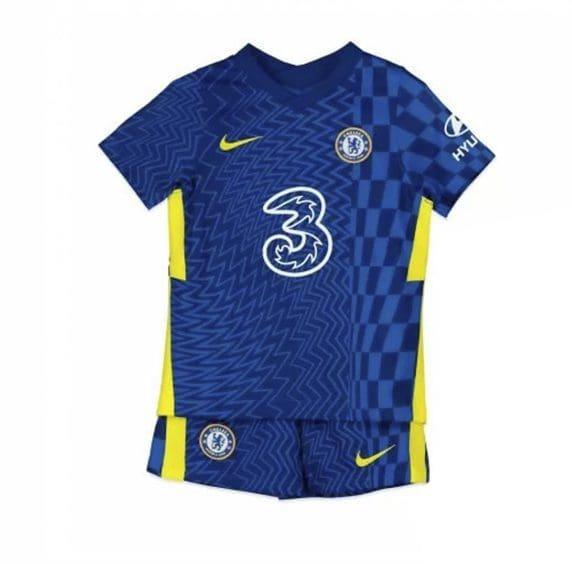 Детская форма Челси 2021-2022 с вашей фамилией и номером