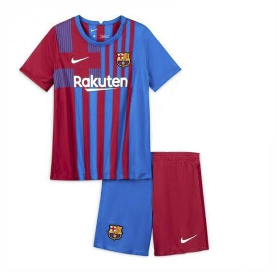Детская футбольная форма Барселона 2021-2022
