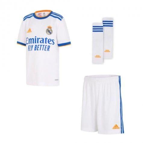 Детская футбольная форма Реал Мадрид 2021-2022 с гетрами
