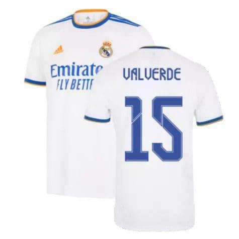 Футболка Вальверде 15 Реал Мадрид 2021-2022