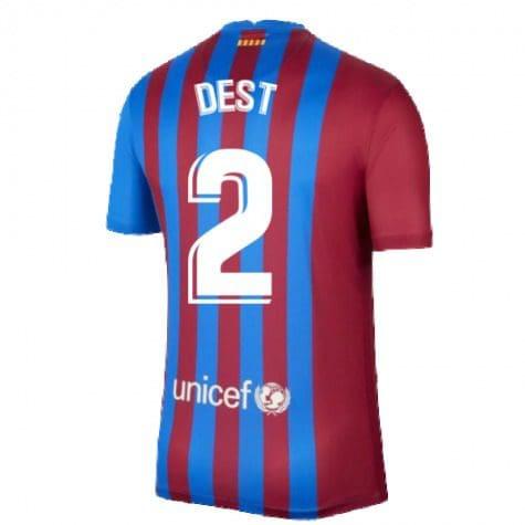 Футболка Дест 2 Барселона 2021-2022