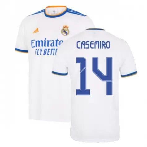 Футболка Каземиро 14 Реал Мадрид 2021-2022