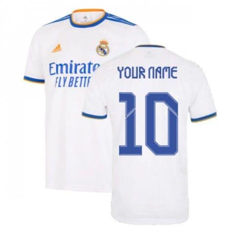 Футболка Реал Мадрид 2021-2022 с Вашим именем и номером