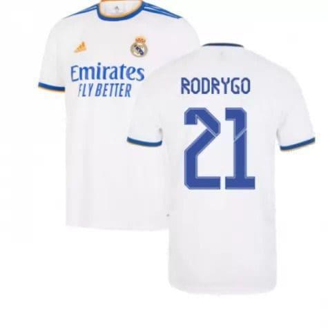 Футболка Родриго 21 Реал Мадрид 2021-2022