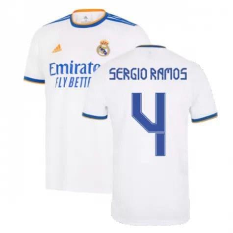 Футболка Серхио Рамос 4 Реал Мадрид 2021-2022