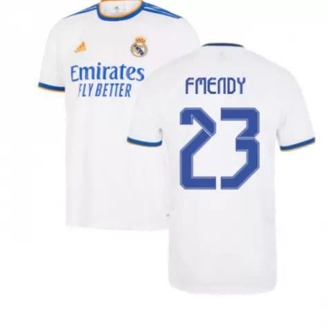 Футболка Ф Менди 23 Реал Мадрид 2021-2022