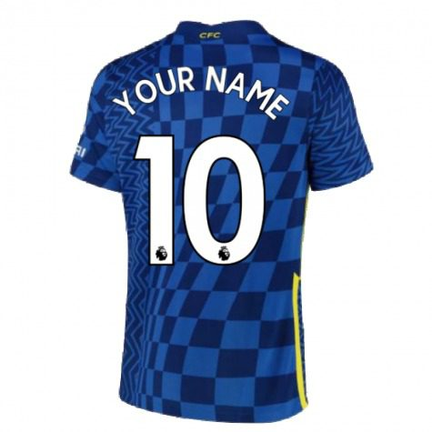 Футболка Челси 2021-2022 с Вашим именем и номером