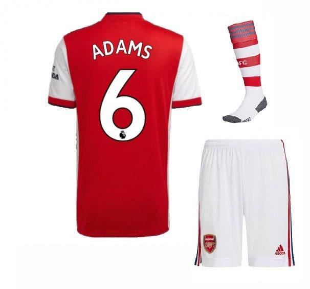 Футбольная форма Адамс 6 Арсенал 2022 с гетрами