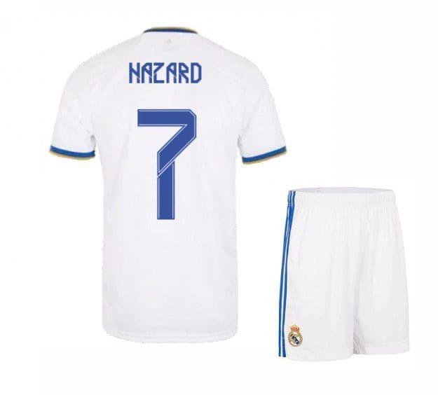 Футбольная форма Азар 7 Реал Мадрид 2021-2022