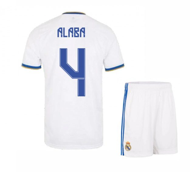 Футбольная форма Алаба 4 Реал Мадрид 2021-2022