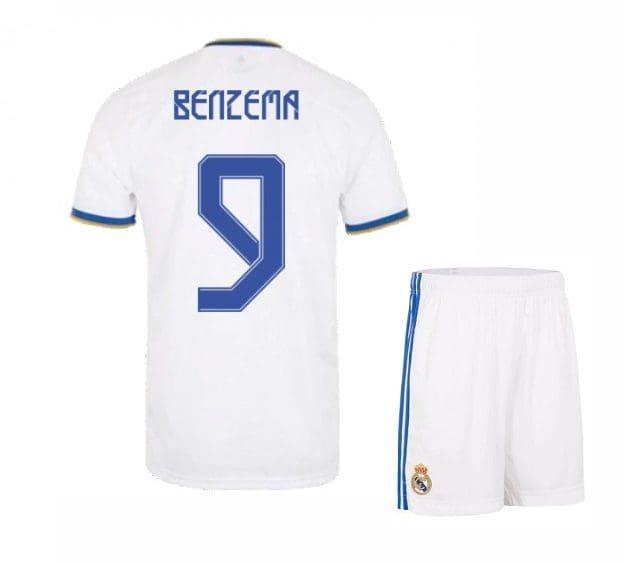 Футбольная форма Бензема 9 Реал Мадрид 2021-2022