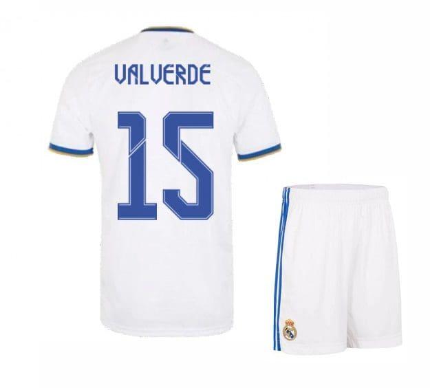 Футбольная форма Вальверде 15 Реал Мадрид 2021-2022