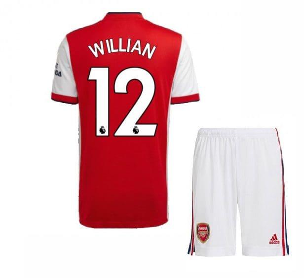 Футбольная форма Виллиан 12 Арсенал 2021-2022
