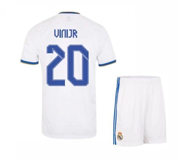 Футбольная форма Вини Мл 20 Реал Мадрид 2021-2022