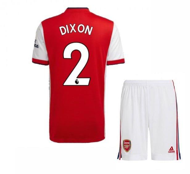 Футбольная форма Диксон 2 Арсенал 2021-2022