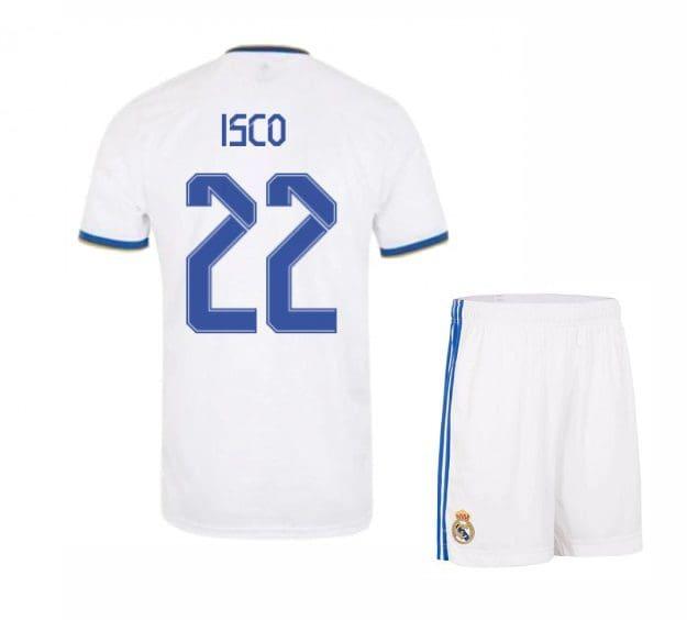 Футбольная форма Иско 22 Реал Мадрид 2021-2022