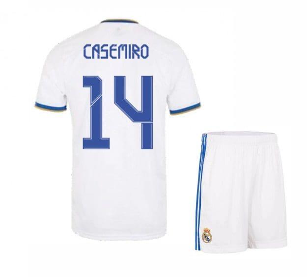 Футбольная форма Каземиро 14 Реал Мадрид 2021-2022