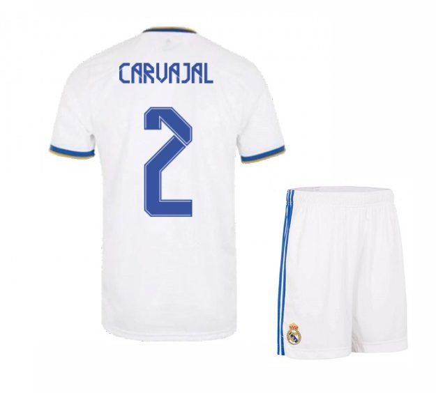 Футбольная форма Карвахаль 2 Реал Мадрид 2021-2022