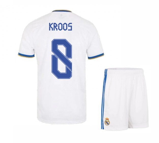 Футбольная форма Кроос 8 Реал Мадрид 2021-2022