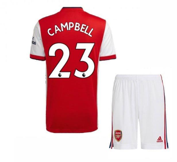 Футбольная форма Кэмпбелл 23 Арсенал 2021-2022