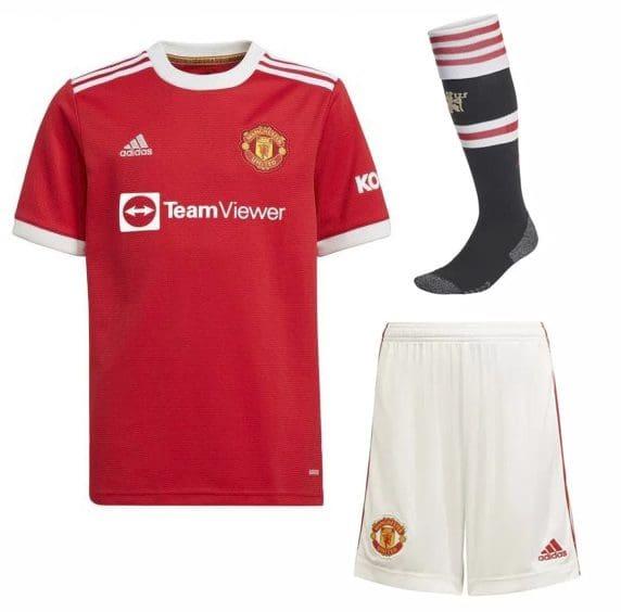 Футбольная форма Манчестер Юнайтед 2022 с гетрами