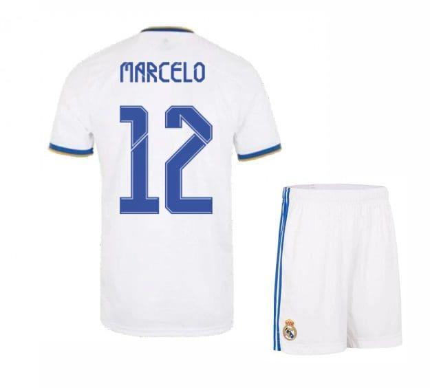 Футбольная форма Марсело 12 Реал Мадрид 2021-2022