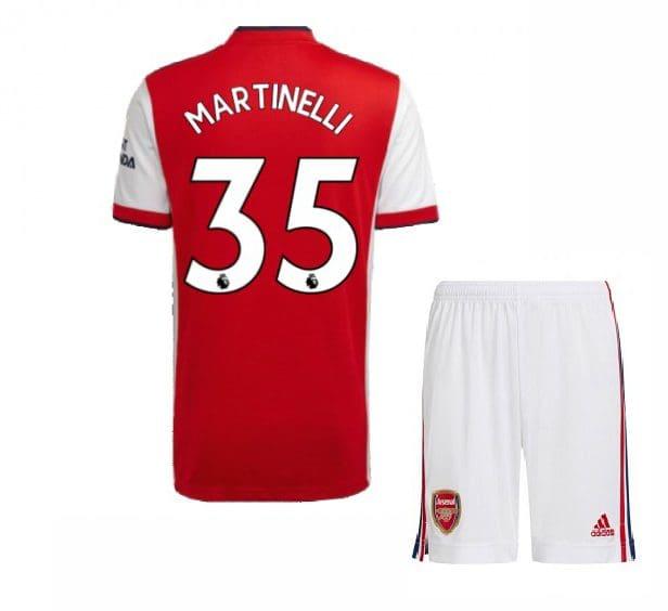 Футбольная форма Мартинелли 35 Арсенал 2021-2022
