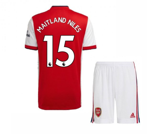 Футбольная форма Мейтленд-Найлз 15 Арсенал 2021-2022