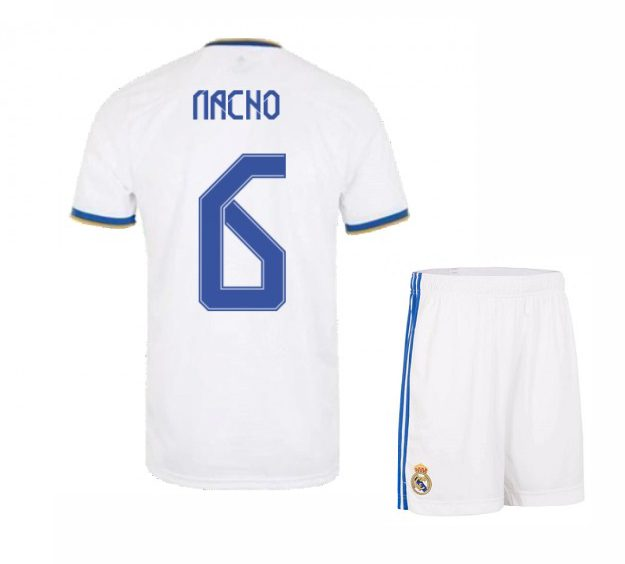 Футбольная форма Начо 6 Реал Мадрид 2021-2022