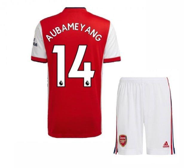 Футбольная форма Обамеянг 14 Арсенал 2021-2022