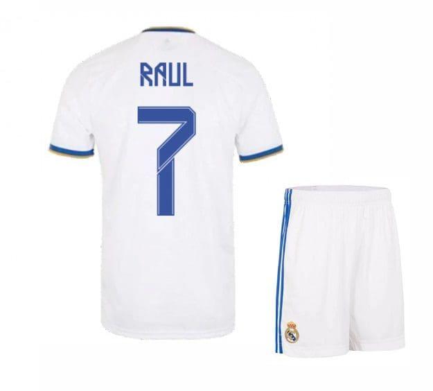 Футбольная форма Рауль 7 Реал Мадрид 2021-2022