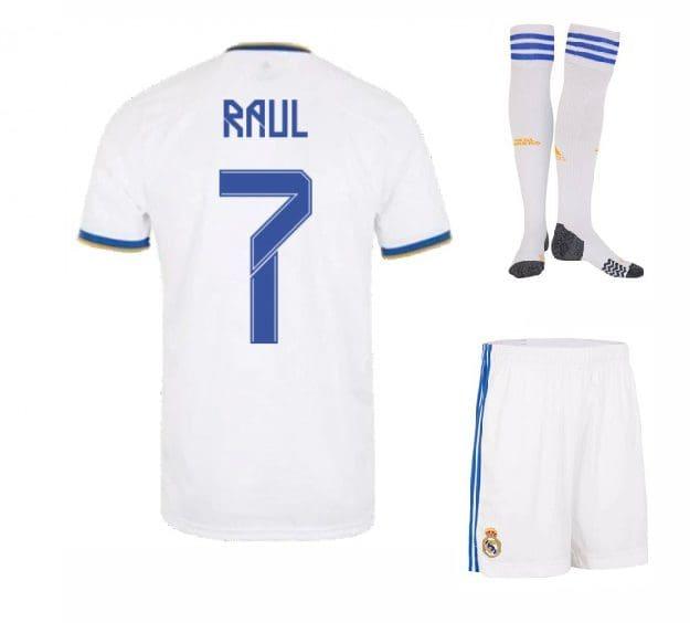 Футбольная форма Рауль 7 Реал Мадрид 2022 с гетрами