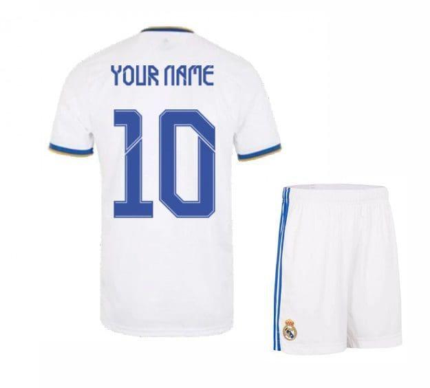 Футбольная форма Реал Мадрид 2022 с именем и номером