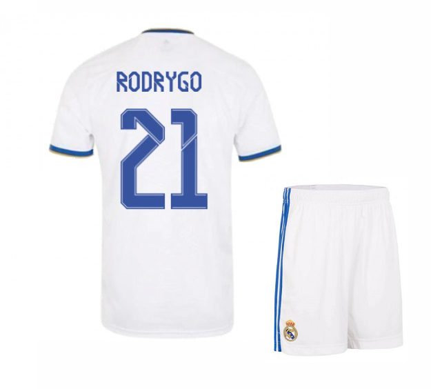 Футбольная форма Родриго 21 Реал Мадрид 2021-2022